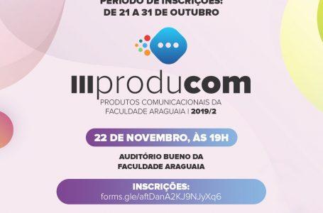 Faculdade Araguaia realiza a 3ª edição do PRODUCOM