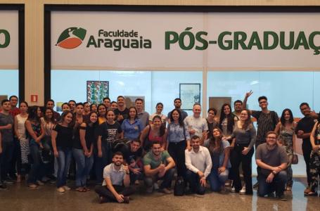 Faculdade Araguaia leva alunos para o evento Campus Party