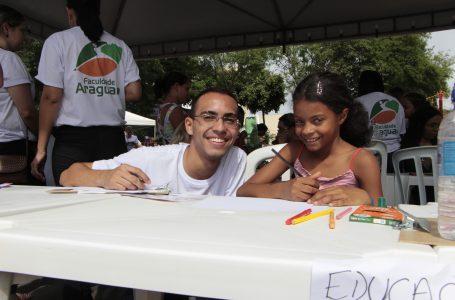 Faculdade Araguaia participa do Balanço Geral nos Bairros