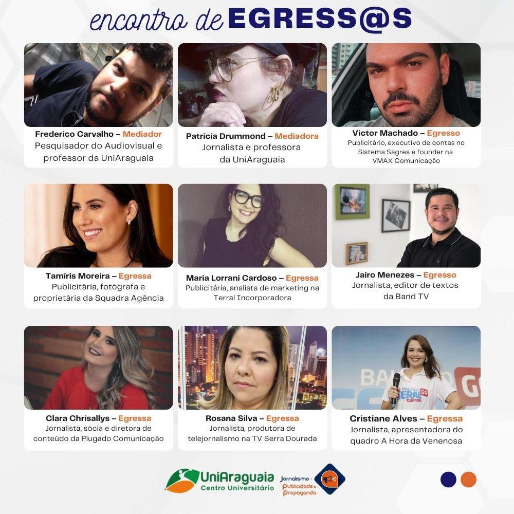 Interação e aprendizado no Encontro de Egress@s dos cursos de Jornalismo e Publicidade e Propaganda