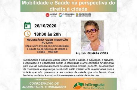 Palestra: Mobilidade e Saúde na perspectiva do direito à cidade