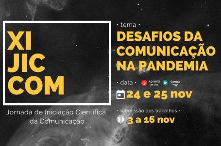 UniAraguaia vai promover um aulão online sobre a XI Jornada de Iniciação Científica dos Cursos de Comunicação