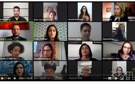 Equidade de gênero é debatida no lançamento do Observatório dos Direitos das Mulheres