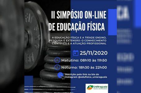 Curso de Educação Física promove II Simpósio On-line