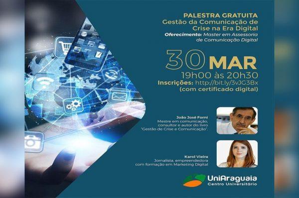 Master em Assessoria oferta palestra gratuita online voltada à Gestão da comunicação digital