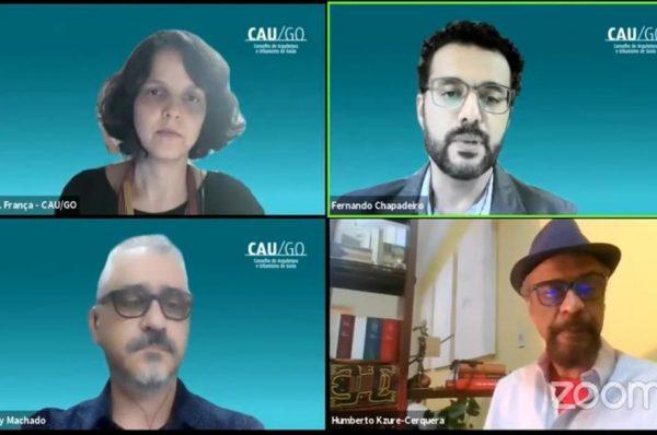 Construindo profissionais: CAU/GO promoveu Aula Magna sobre planejamento urbano