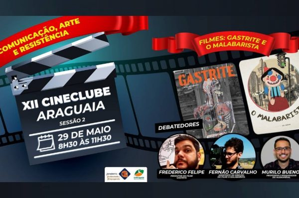 Cineclube apresenta duas produções audiovisuais goianas