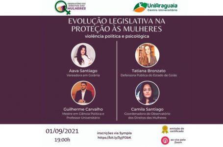 Observatório promove seminário sobre leis de proteção às mulheres